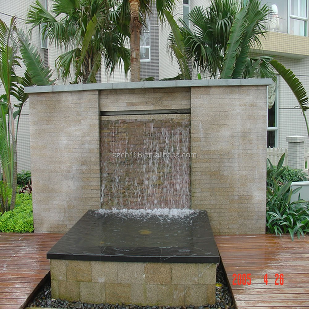 d corative artificielle cascade fontaine cascade murale. Black Bedroom Furniture Sets. Home Design Ideas