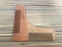 Best Selling Beard Shaping Tool Comb Beard Shaper Styling Template Grooming Guide for Men
