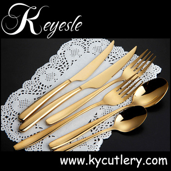gold plated cutlery gold cutlery set gold plated flatware wholesale & gold plated cutlery gold cutlery set gold plated flatware ...