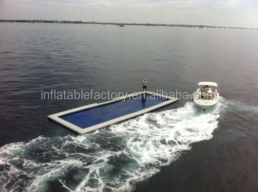 sea inflatable floating swimming pool  Inflatable Ocean Pool For Yacht