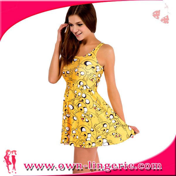 22f2fd949f short party dresses for juniors with yellow color sexy girl hot open photos short  party dresses
