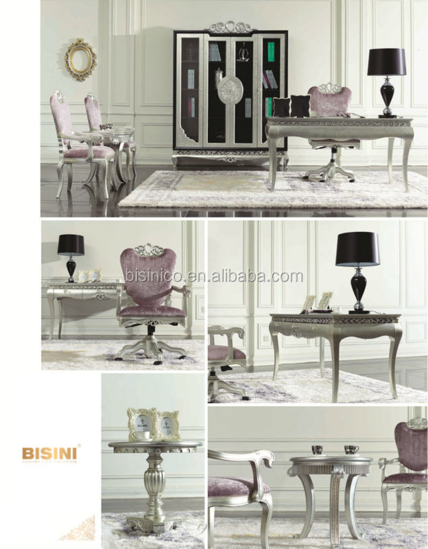 European Neoclassic Style Victoria Dining Room Furniture Side Chair
