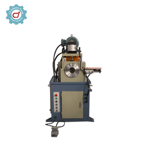 pneumatic single end round bar chamfering machine for steel pipe tube chamfering