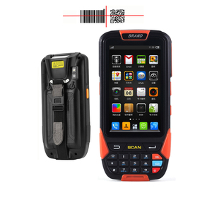 Alibaba China shenzhen wholesale 100 Scans/sec IP65 barcode scans nfc pad GPS 1d 2d scanner pda Android barcode scanner