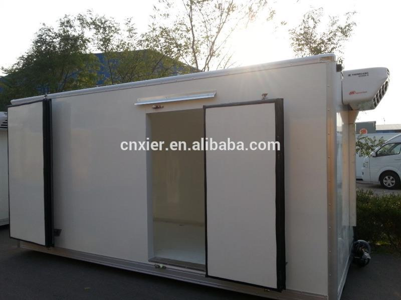 Aluminum Sheet/corrugated Steel Cargo Dry Van Body Chemical Liquid ...