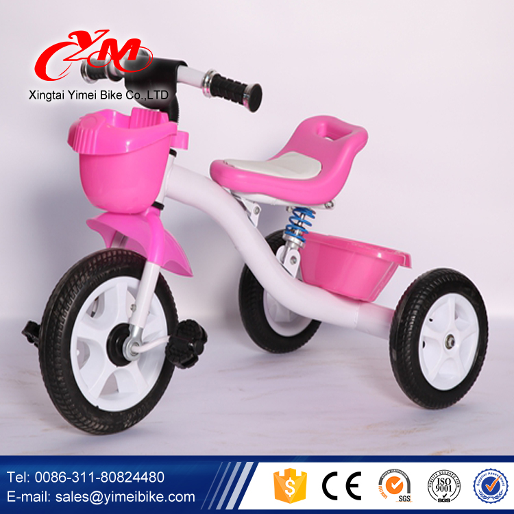 fb3043deb3f Small Little Kids Metal Tricycle with Basket/China Factory Supply Children  Tricycle Toddler/Wholesale
