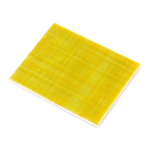 Good mechanical and dielectric properties high voltage yellow 3240 fiberglass insulation epoxy sheet