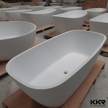 Apartment Resin Free Standing Shower Bathtubs