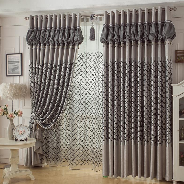 Home Decor Curtain Ideas: 2015 Rideaux Cortinas Sala Curtains For Home Decor Bedroom