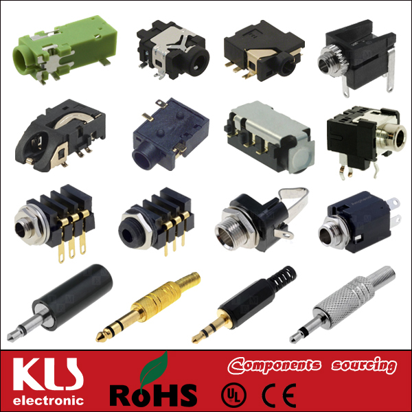 Good quality 2.5mm 5.5mm smd DC output connector UL CE ROHS 148 KLS