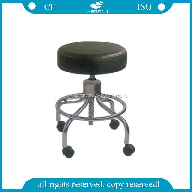 Ag Ns001 Ce Amp Iso Height Adjust Cheap Stools With Wheels