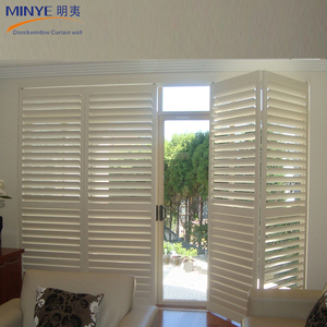 High end PVC/UPVC jalousie louver windows durable windows shutters Philippine shutter