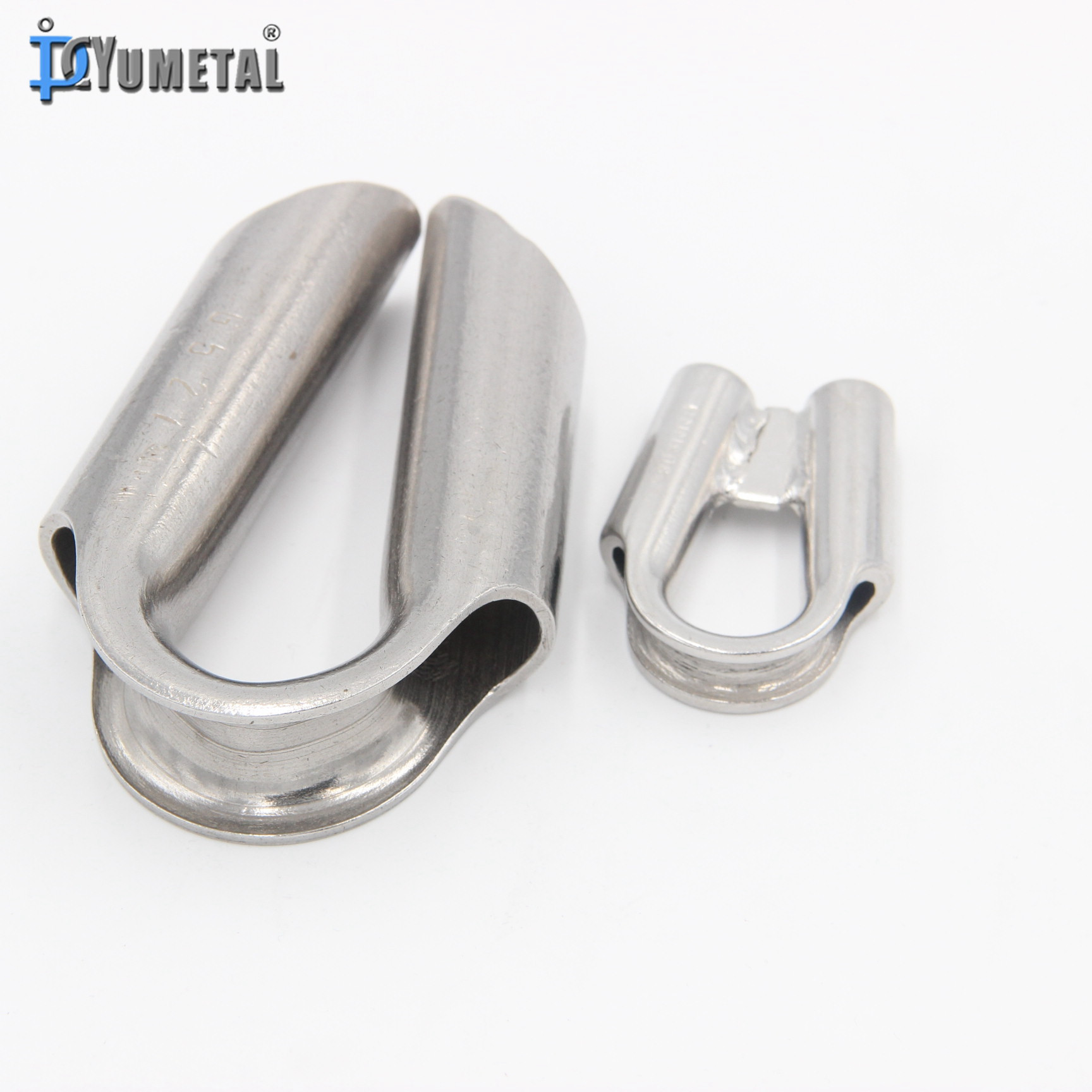 Stainless Steel Wire Rope Tube Thimble - Buy Tube Thimble,Wire Rope ...