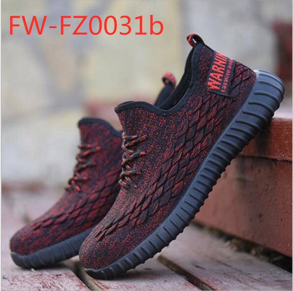 New Style Summer Fashion Breathable Mesh Light Weight Steel Toe Safety Shoes FW-FZ0031