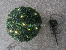 30CM Artificial Buxus Ball LED Lighted Topiary Ball