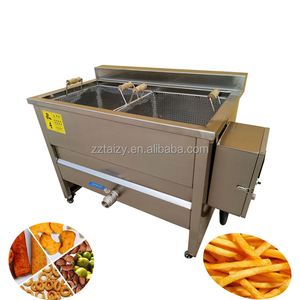 banana chips fryer machine chicken deep fryer machine Potato Chips Frying Machine