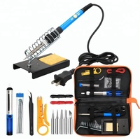 FRANKEVER soldering iron kit electronics 14 in 1 set with adjustable temperature tools