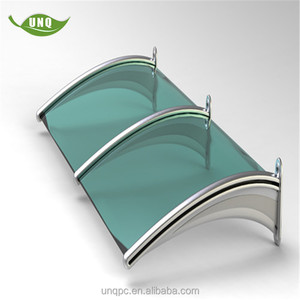 UNQ awning manufacturing doors canopy rain shelter/commercial building awning