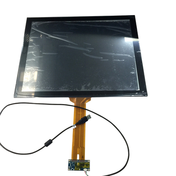 Durable PC Monitor Display 19 inch Touch Panel Interactive Touch Screen CTP