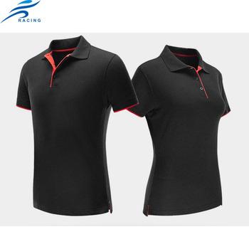 78bae50ed3 Dry Fit Mulheres E Homem Unisex Camisa Polo Camisa Preta - Buy ...