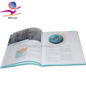 free sample pop up brochure printing with perfect binding