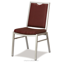 Metal Stacking Iron Chair For Hotel