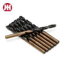China HSS construction carbon steel Straight Shank Twist drill bits