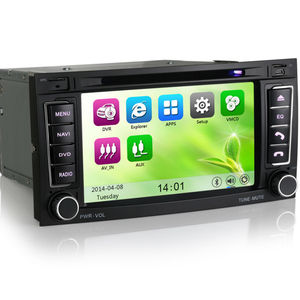 "Erisin ES7402M 7"" 2 Din Car DVD Player with Multimedia System GPS"