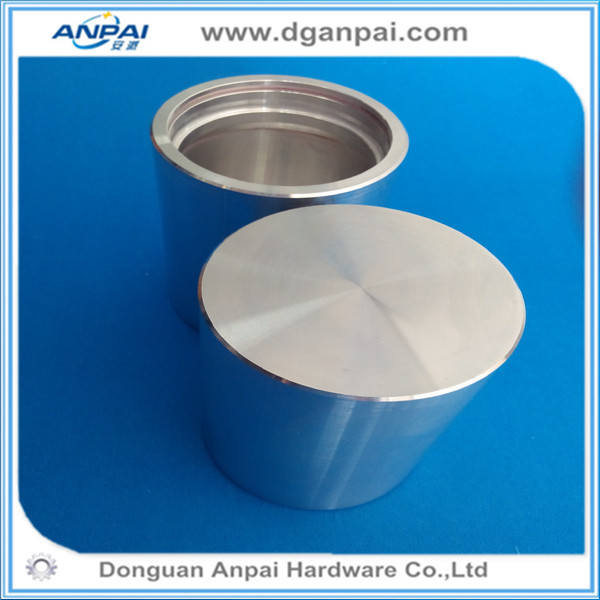 high precise cnc aluminium machining circle stick/product aluminum round parts