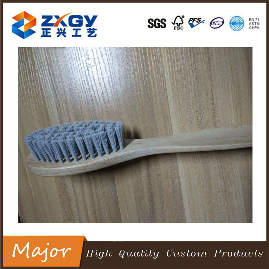 Made in China Wooden Handle Brush for Shoe
