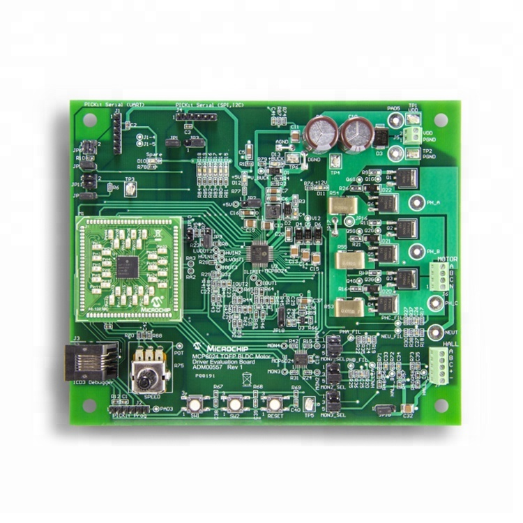 FR4 94v0 high power 4 layer pcb board custom pcb control board with pcb assembly service