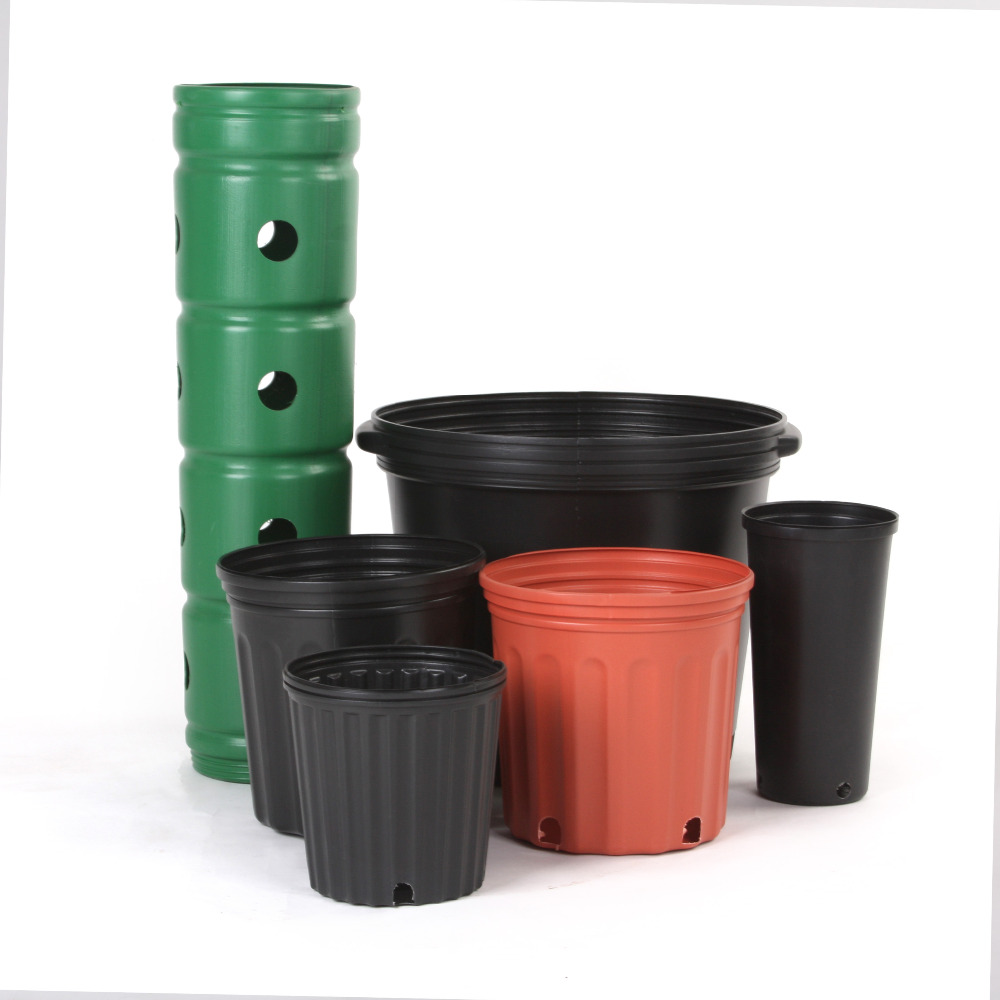 Not Coated Pe Plastic Cheap Small 2 Gallon Nursery Pots