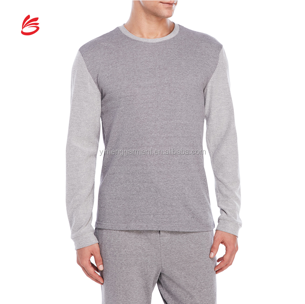 Soft And Cheap Long Sleeve Lounge Sleeping Shirt For Men Modal ...