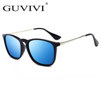 3d999e1a74 GUVIVI Square OEM Best brand sunglasses men Mirrored CE&FDA Polarized clip  on Lexxoo sunglasses