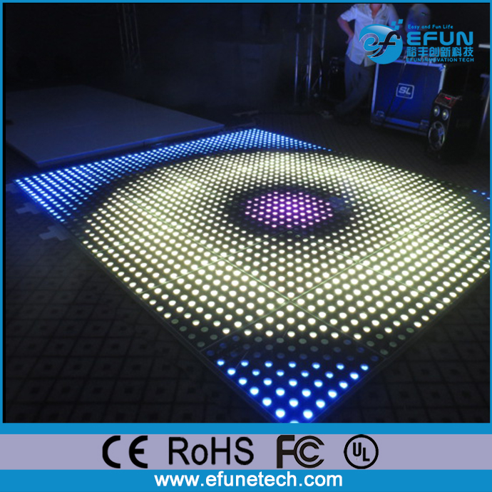 new design 2017 portable illuminated rgb color interactive led 3d china manufactured buy disco dance floor