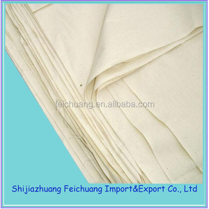 China cheap thin muslin fabric/cheap calico fabric