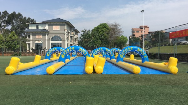 giant inflatable water city slide for water park