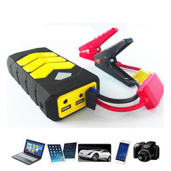 Portable Mini Jump Starter 16800mAh Car Jumper 12V Booster Power Battery Charger Phone Laptop Power Bank