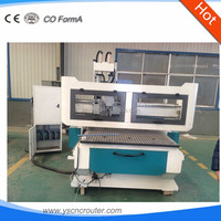 universal wood crafts cnc router 4'*8' cheap wood cnc router machine 1325 multi spindle automatic loading and unloading