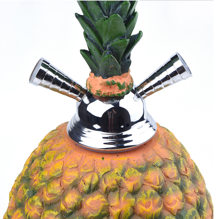 Jl-256AH Pineapple Shisha Hookah 2018 New Design Wholesale Hookah with Bowl Hose Accessories