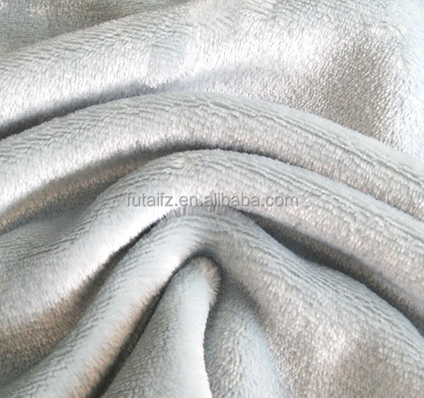 Fleece fabric manufacturer supply polyester plush toys fabric