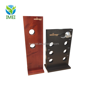 China factory retail countertop door lock display stand for keylock