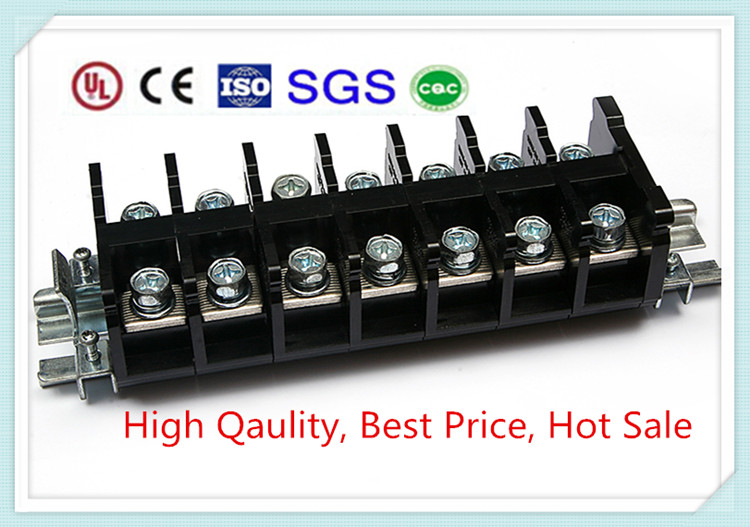 Barrier 600v 50a 12.7mm Pitch Bus Bar Cable Terminal Block ...
