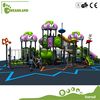 High strength children outdoor spiral combined slide, kindergarten play slide