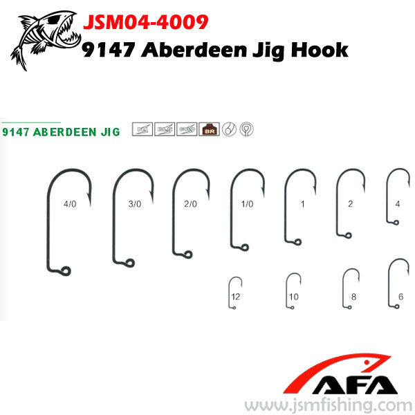 9147 jig squid hook squid fishing tackles fishing hook JSM04-4009