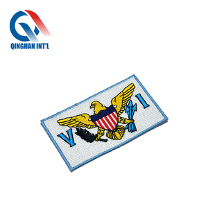 Custom 3d logo football club embroidery patch iron on patches for football club jersey