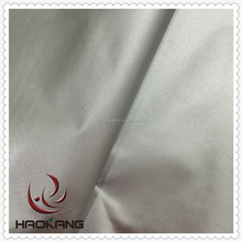 Silver coated 420d polyester blackout fabric