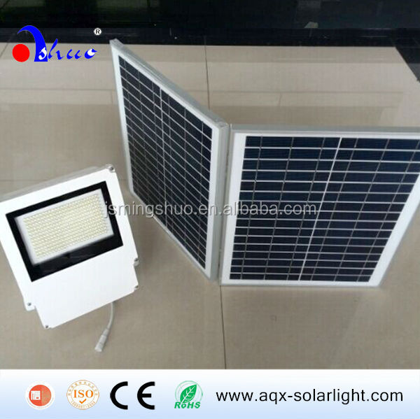Hot Products!!! Super Brightness Solar Flood light with ON/OFF & Brightness Remote Controllable