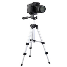Draagbare camera camcorder <span class=keywords><strong>statief</strong></span> <span class=keywords><strong>aluminium</strong></span> + universal mobiel mount