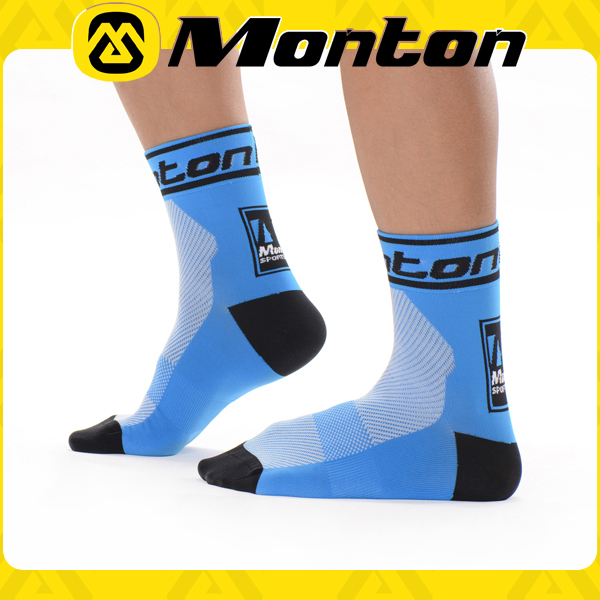 High quality knitted socks mountain bike breathable accept custom